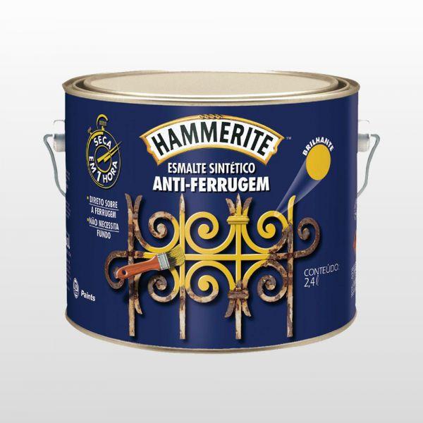 HAMMERITE BRILHANTE 2.4L CORAL  CINZA