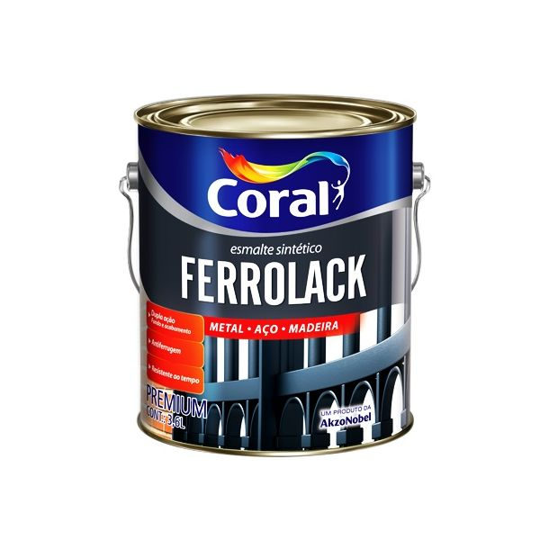 Primer Ferrolack 3,6Litros Branco Coral