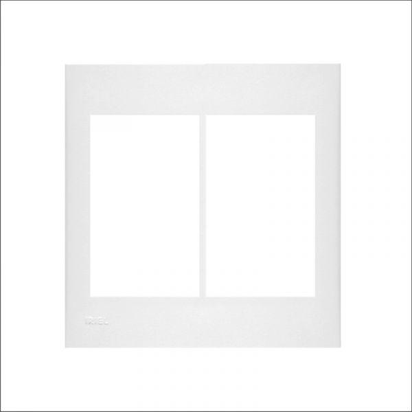Bastidor com Placa 6 Funções 4x4 Branco Iriel