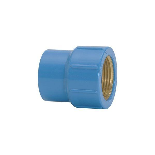 Luva de redução bucha de latão 20mm x ½ Amanco