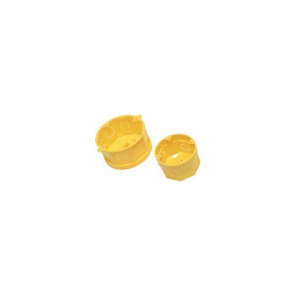 Caixa de Luz Octogonal 4X4 Amanco Amarelo