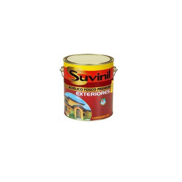 Acrílico Fosco Exteriores 3,6 litros Pérola Suvinil