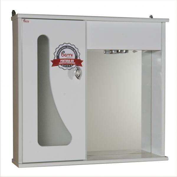 Espelheira Plus 0.60 Bemi Branco