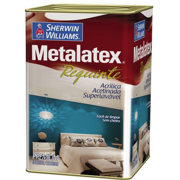 Tinta Metalatex Requinte Superlavável 18 Litros Branca Sherwin Williams