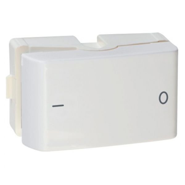 Módulo Interruptor Bipolar Simples  Prm045151 Lun.Decor  Branco