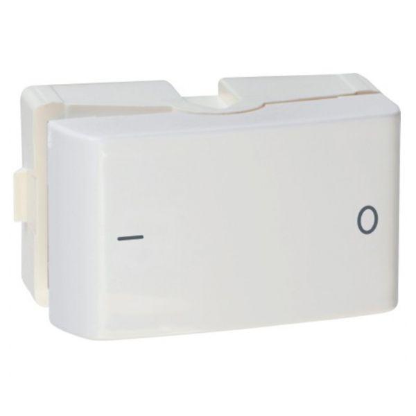 Módulo Interruptor Bipolar Simples  25a-250v Lun.Decor  Branco