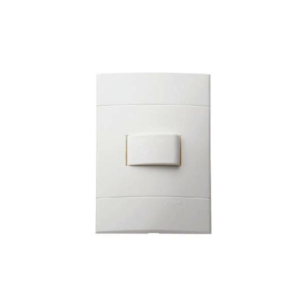 Conjunto Interruptor Simples 4x2 10A  250V  Decor Branco Prime