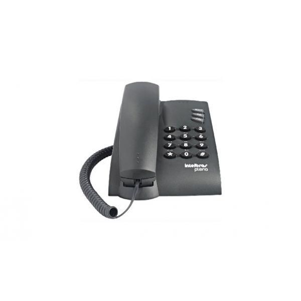 Telefone Pleno com chave 4080058 cinza Intelbras