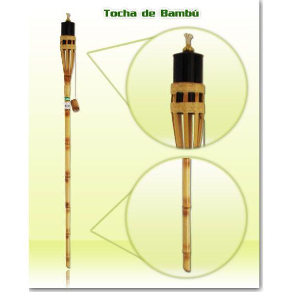 Tocha Bambu Quadripe FC024 1,45M Fest Chama