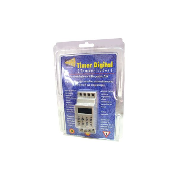 Timer digital 127V 2000W DNI 6620 Key West