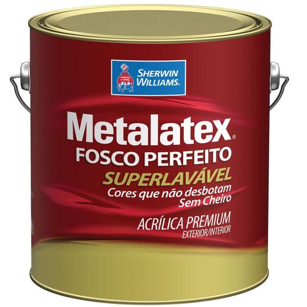 Tinta Acrílico Metalatex Fosco 3.6l Sherwin  Erdo