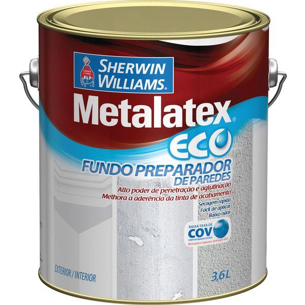 Metalatex Eco Fundo Preparador de Paredes Sherwin Williams