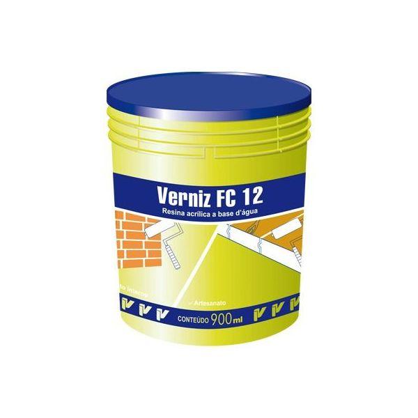 Verniz Acrílico FC12 Brilhante Viapol 900ml
