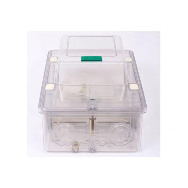 Caixa Polifásica Com Trava Cpt524 Plastimax  Transparente