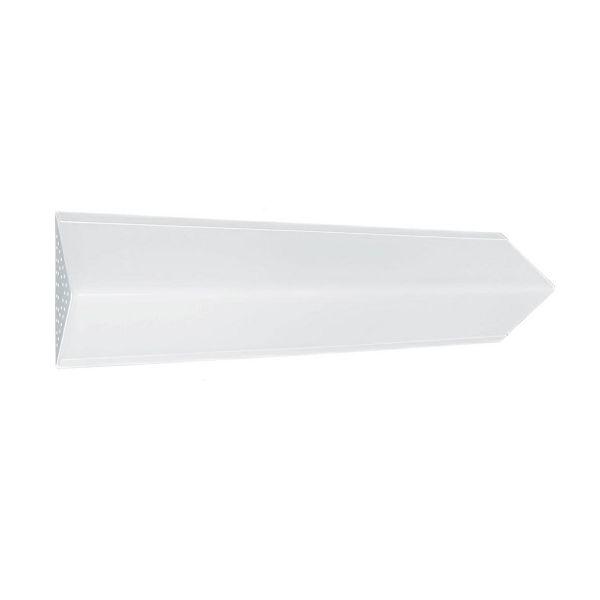 Arandela / Plafon para 2 Lâmpadas com Acrílico Jato Branco