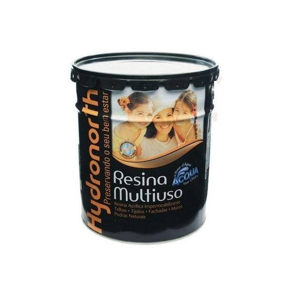 Resina Acqua 0.9 Litros Cerâmica Ônix Hydronorth