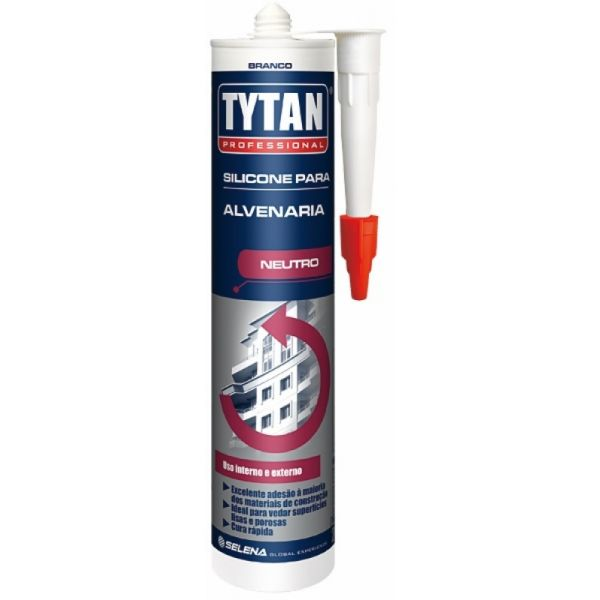 Silicone Alvenaria 280gr Tytan Branco