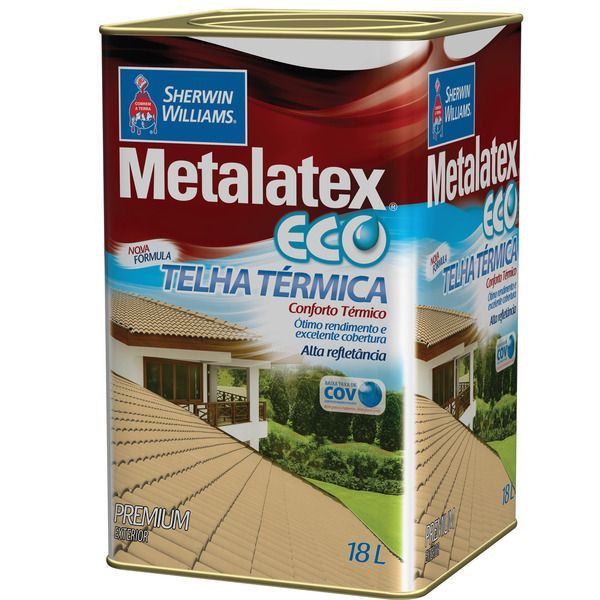 Metalatex Eco Telha Term.18l Sherwin  Ceramica