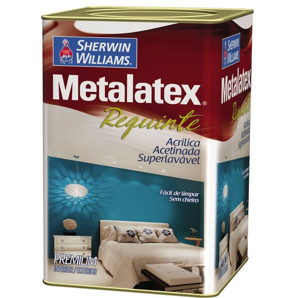 Metalatex Requinte Superlavável 18 litros Pérola Sherwin Williams