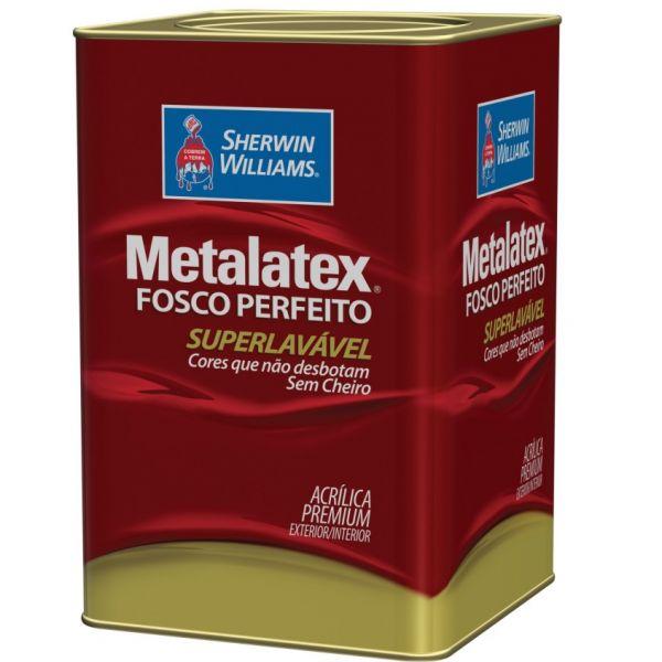 Acrílico Fosco Metalatex 18 litros Palha Sherwin