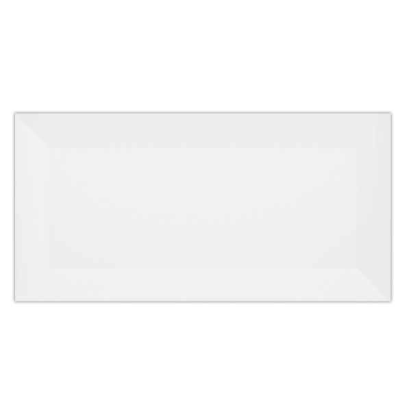 Azulejo 10x20 Metro White Acetinado Eliane