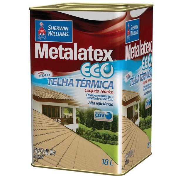 Metalatex Eco Telha Term.18l Sherwin Wil  Branco