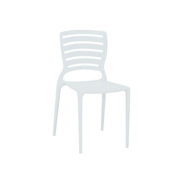 Cadeira SofiaEncaixe Horizontal 92237/010 Branca Tramontina