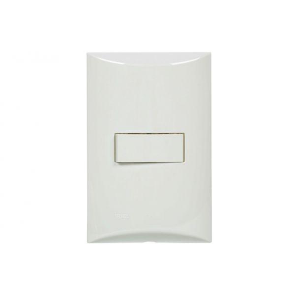 Conjunto Interruptor Paralelo 4x2 10a 250v 551021 Brava  Branco