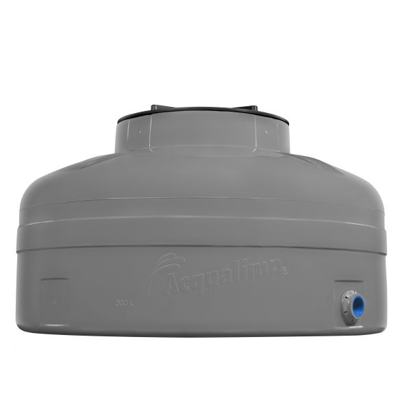 Caixa D'água Facil Instalação 1000 Litros Cinza  Acqualimp
