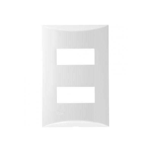 Placa 4x2 2m Sep.571131 Brava  Branco