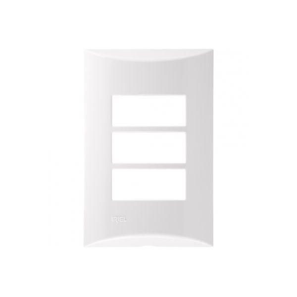 Placa 4x2 3m 571141 Brava  Branco