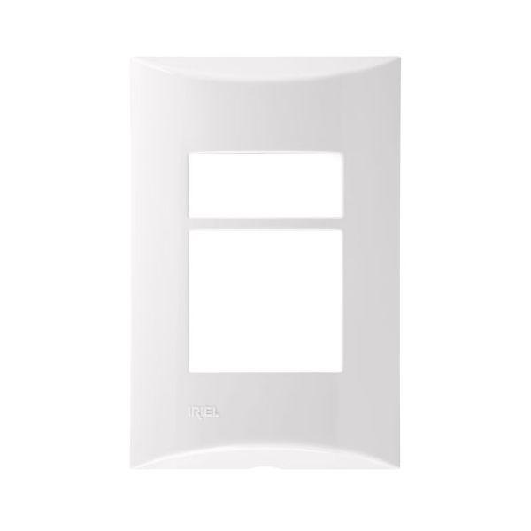 Placa 4x2 1m+2m Duplo 571151 Brava  Branco