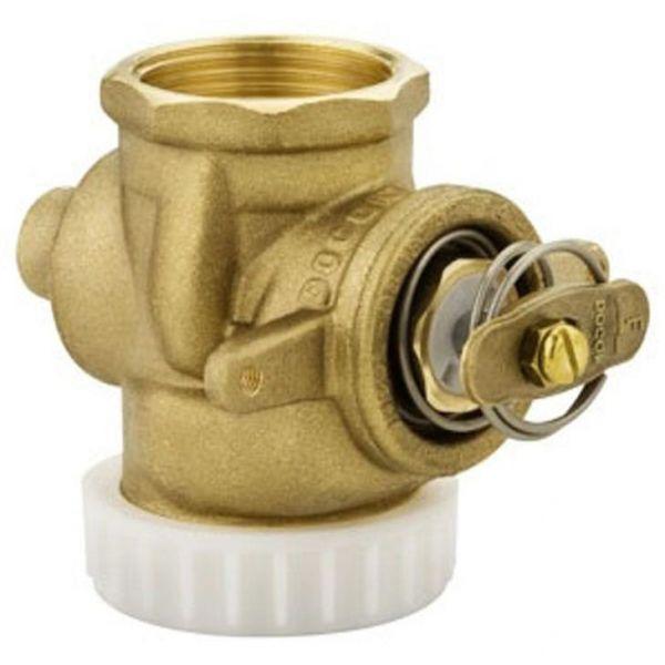"""Válvula de descarga alta pressão 1.1/4"""" AP cromada Docol"""