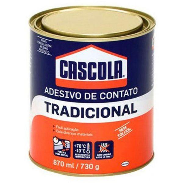 CASCOLA TRADICIONAL S/TOLUOL 730GR