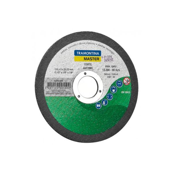 Disco Corte Para Pedras Verde Tramontina 42593/004