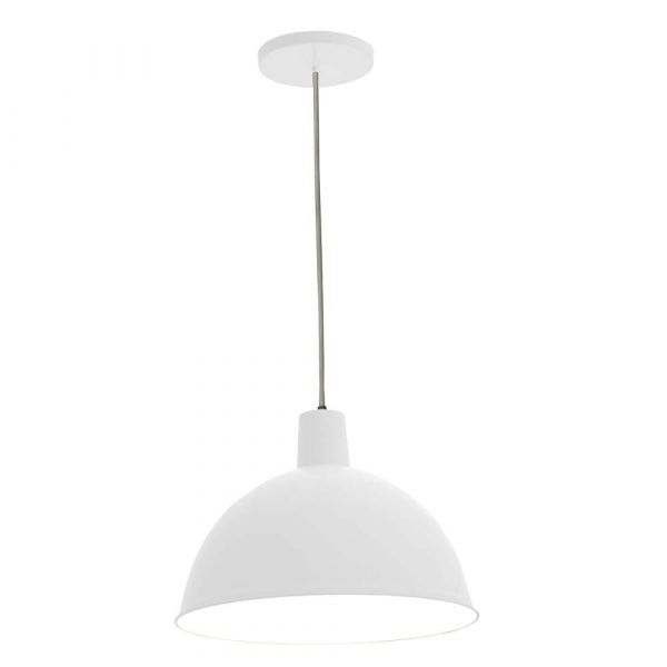 Pendente Design P/1 Lâmpada TD821 Branca Taschibra