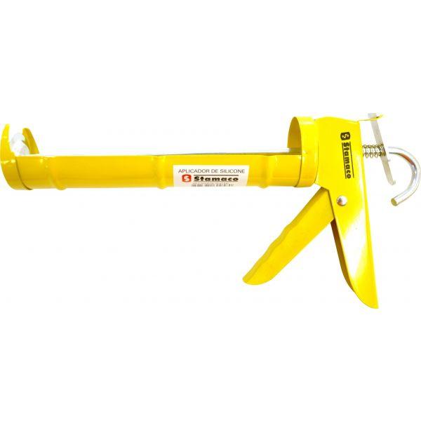 Aplicador Silicone Amarelo Stamaco