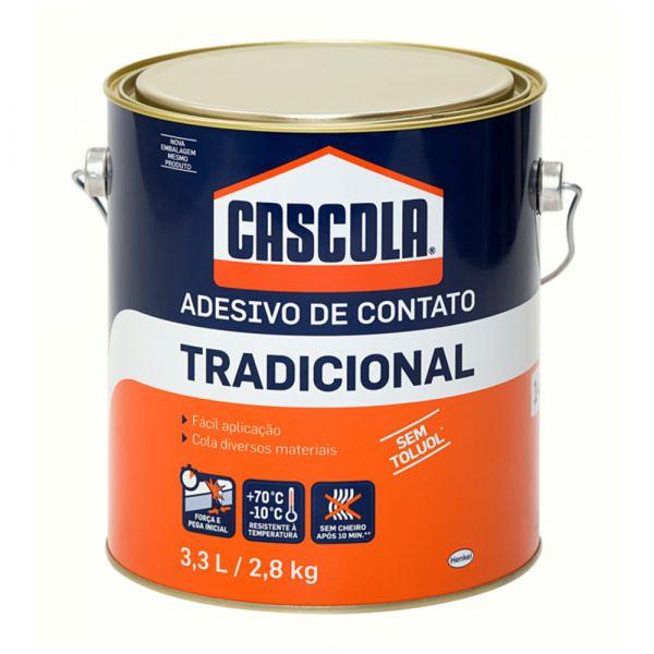 CASCOLA TRADICIONAL S/TOLUOL 2.8KG