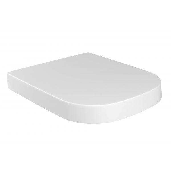 Assento AP-336 Slow Close Quadrada/Piano Deca Branco