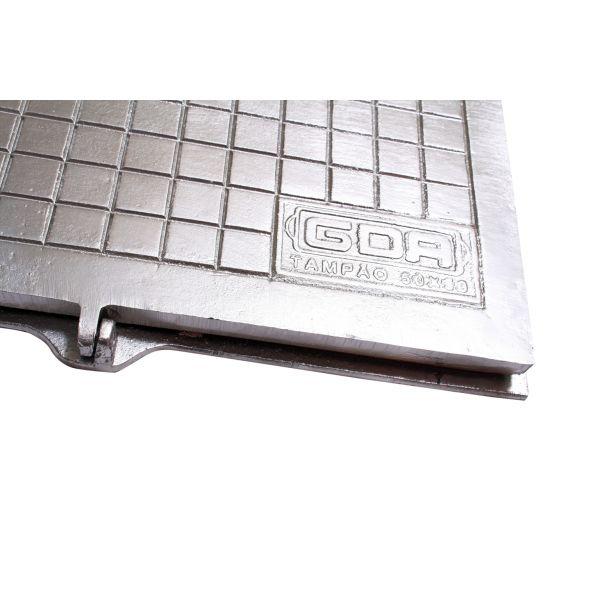 Tampão Cisterna Alumínio 50x50cm GDA