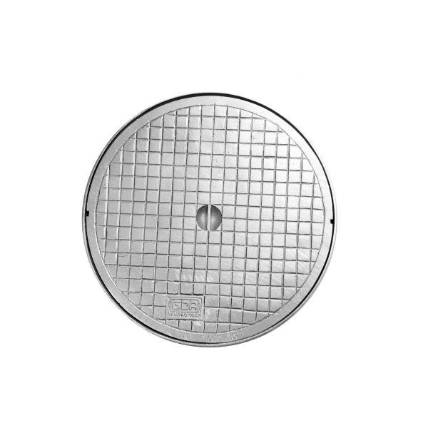 Tampão Caixa Gordura Simples Alumínio 0.42cm GDA