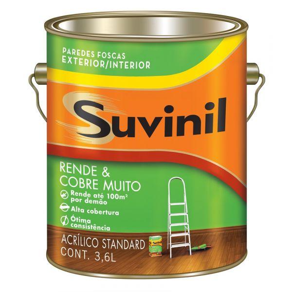 Acrílico Fosco RM Cobre Mais  3.6L  Palha Suvinil
