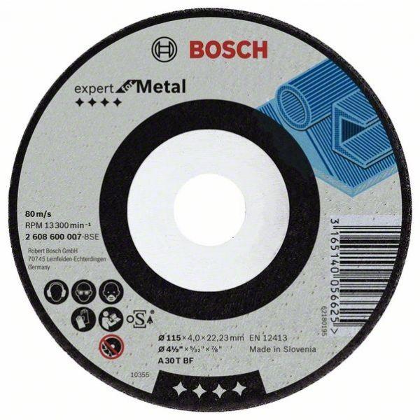 Disco Desbate Gr24 115X6,4X6mm Bosch