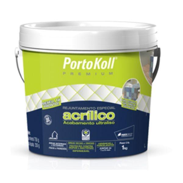 Rejunte Acrílico Premium Portokoll Marfim