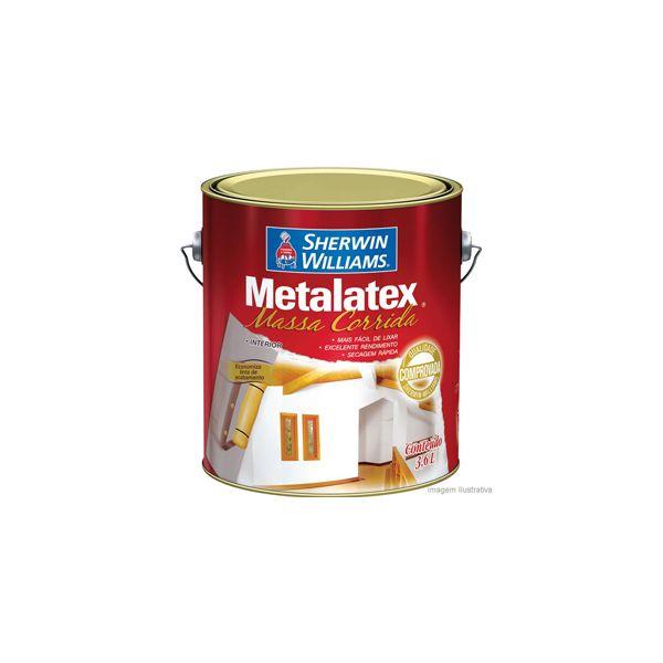 Massa Corrida Metalatex 0.9l Sherwin  Branco