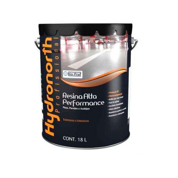 Resina Alta Performance 18 Litros Cinza  Hydronorth