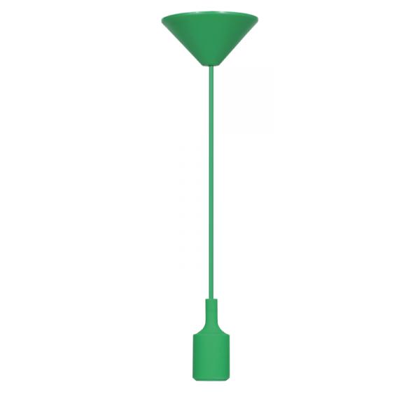 Pendente Dot Color E27 Verde Taschibra
