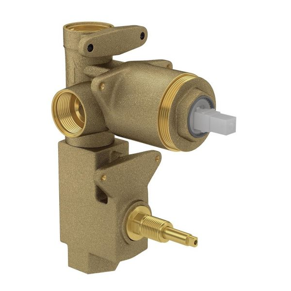 Base Monocomando Com Desviador Chuveiro/Banheiro 1/2 E3/4 4494 Deca