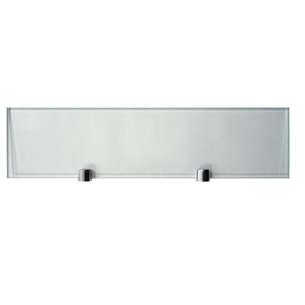 Prateleira Retangular Vidro Transparente 40 x 10 cm Bemfixa