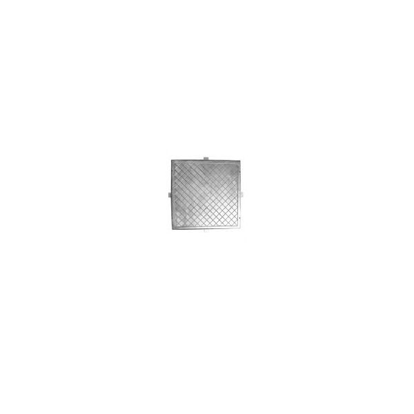 Tampao Dupla Vedacao Rebaixado 60X60 Gda  Aluminio